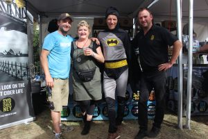 Guy, Jenny, Batman and DG