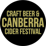 Canberra craft beer and cider festival logo