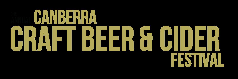 Canberra Craft Beer and Cider Festival banner